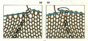 Menguar Puntos del tejido
