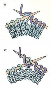 como aumentar puntos en crochet