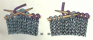 como hacer disminuciones en dos agujas