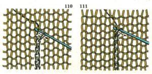 patrones de dibujos para tejer a dos agujas