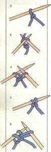 tejer con agujas