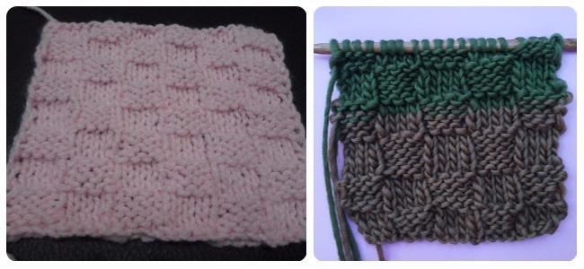 punto damero crochet
