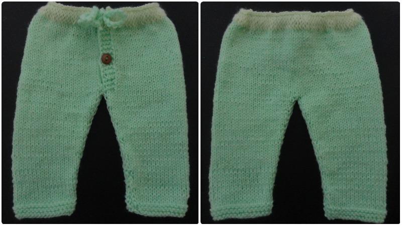 Pantalón De Lana Para Bebé