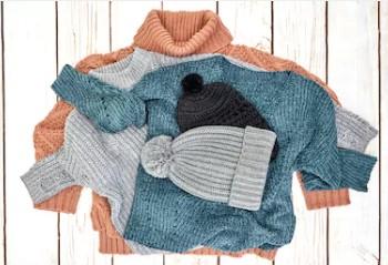 Prendas con lana merino