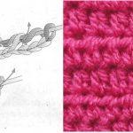 Cómo se Teje MEDIA VARETA o Medio Punto Alto en Crochet