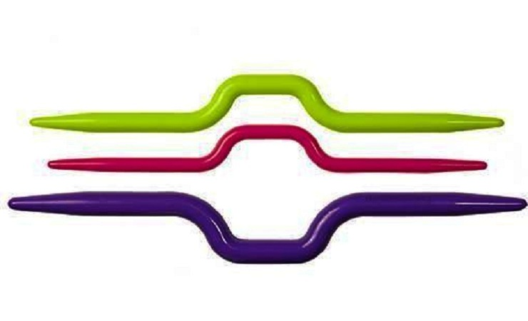 agujas auxiliares para tejer
